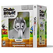 CHIBI- ROBO!: ZIP LASH WITH CHIBI-ROBO AMIIBO - 3DS