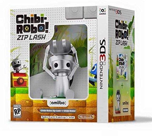 Chibi-Robo Zip Lash with Chibi-Robo amiibo bundle - Nintendo 3DS
