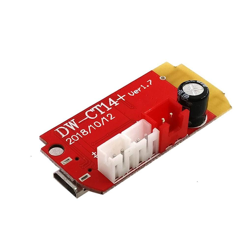Bluetooth-Verst/ärkerplatinenmodul Ardentity Stereo-Verst/ärkerplatine 5VF 5W DIY-modifizierter Lautsprecher 5W USB-Anschluss Zum Nachr/üsten Der Lautsprecherbox
