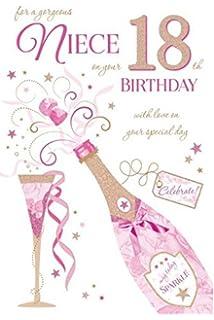 Special niece 21st birthday birthday card amazon kitchen home to a special niece 18th birthday card bookmarktalkfo Choice Image