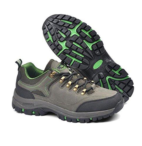 Que Sportszapatos Libre Antideslizante Del Zapatos Z Desgaste Green Aire amp;hx Caminan Al 8wBOxqS4