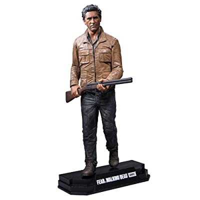 """McFarlane Toys Fear The Walking Dead TV Travis Manawa 7"""" Collectible Action Figure: Toys & Games"""