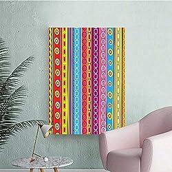 Wall Stickers for Living Room Strip Circl Boho Pat