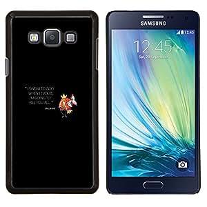 """Be-Star Único Patrón Plástico Duro Fundas Cover Cubre Hard Case Cover Para Samsung Galaxy A7 / SM-A700 ( Magikarp P0kemon"""" )"""