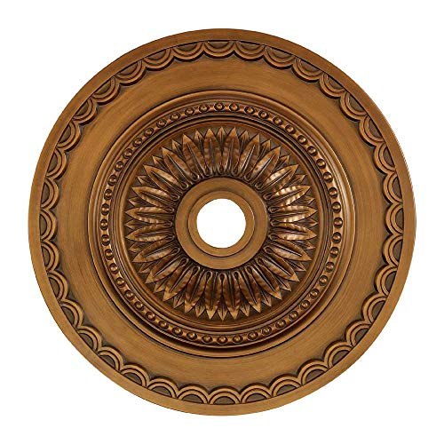 Elk M1008AB Brookdale Ceiling Medallion, 30-Inch, Antique Bronze Finish ()
