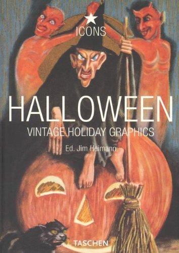 Halloween: Vintage Holiday Graphics (Vintage Halloween Books)
