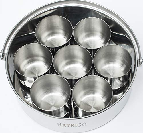 Hatrigo 7-in Cake Push Pan, 7 Mini Cake Molds, 50 Parchment Paper - Stainless Steel Cheesecake Pan Replaces Springform Pan & Silicone Egg Bites Molds, Compatible with Instant Pot Accessories 6 qt 8 qt - Loaf Mold Paper