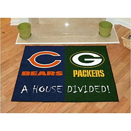 2dfbfaf0 Chicago Bears / Green Bay Packers House Divided NFL All-Star