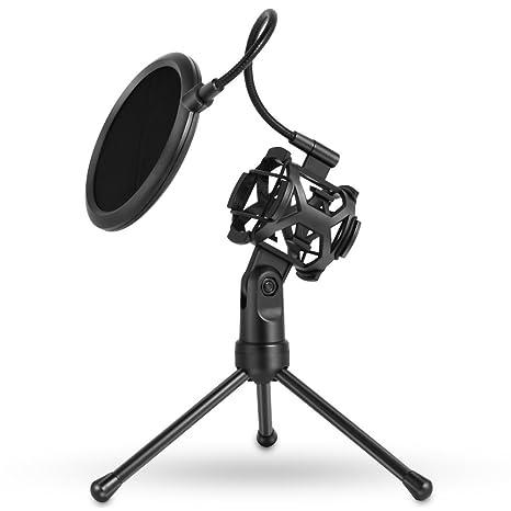 ZREAL 1098/5000 Soporte para trípode para micrófono con Soporte ...