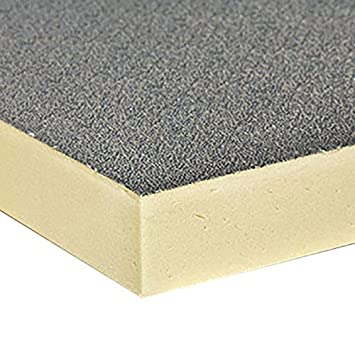 Poliuretano Buildershop Pur/PIR aluminio 024 DM - 100 kPa - Grosor 80 mm (1 - Contenido del paquete 3,91 M²/paquete): Amazon.es: Bricolaje y herramientas
