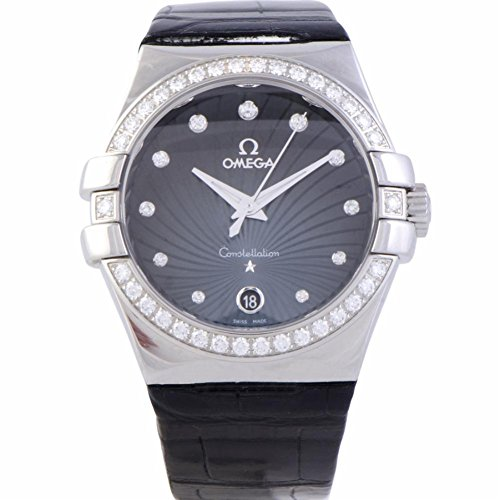 Omega Constellation quartz womens Watch 123.18.35.60.56.001 (Certified Pre-owned)