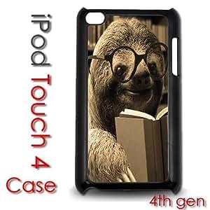IPod Touch 4 4th gen Touch Plastic Case - Dolla Dolla Bill Sloth Professor