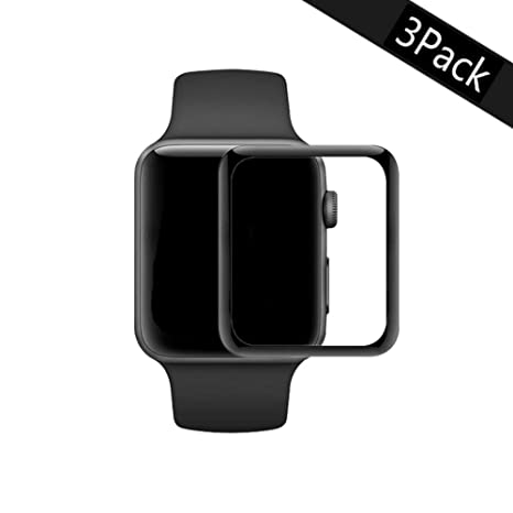 JIENI Protector de Pantalla para Apple Watch Series 1/2/3 ...