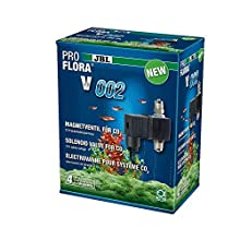 JBL Pro Flora V002 64463 - Válvula magnética silenciosa para controlar la Entrada de CO2 en acuarios (12 V)