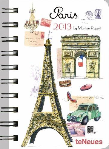 2013 Pocket Calendar - 2013 Paris Deluxe Pocket Engagement Calendar