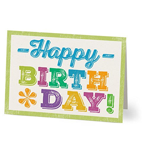 Hallmark Business Birthday 75 Pack Assorted Cards for Employees or Customers (Pack of 75 Assorted Greeting Cards for Business) by Hallmark Business Connections (Image #6)