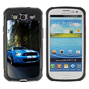 Jordan Colourful Shop@ COBRA MUSTANG GT500 CAR Rugged hybrid Protection Impact Case Cover For S3 Case ,I9300 Case Cover ,I9308 case ,Leather for S3 ,S3 Leather Cover Case