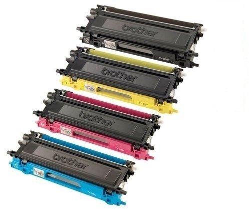 TN115 Black TN110 Color TN-115 Toner Fits For Brother Color Laser Printers HL-4040CN HL-4070CDW mfc9840cdw HIGH YIELD Combo Toner (Brother Hl 4070cdw Color)