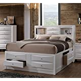 Acme Furniture Ireland 21700Q Queen Bed with Storage, White