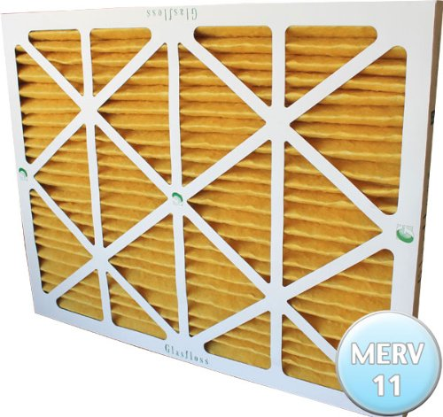 16-3/8x21-1/2x1 Air Filter for Carrier, Bryant and Payne MERV 11, Case of 12