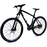"BEIOU Carbon 29 Inch Mountain Bike 29er Hardtail Bicycle 2.10"" Tires SHIMANO ALTUS M370 27 Speed XC/Trail MTB T800 Ultralight Frame Matte 3K BOCB020-29"