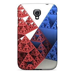 Fashion Iao11667VSJQ Cases Covers For Galaxy S4(pyramids 3d) Black Friday