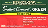 Bigelow Constant Comment Green Tea 20-Count Boxes 1.18Oz (Pack of 6) Caffeinated Individual Black Tea Bags, for Hot Tea or Iced Tea, Drink Plain or Sweetened with Honey or Sugar