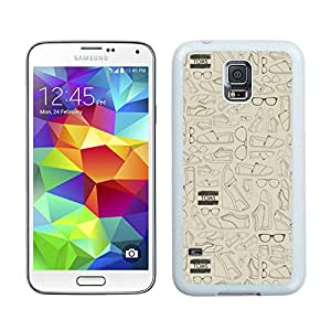Unique And Luxurious Designed For Samsung Galaxy S5 I9600 G900a G900v G900p G900t G900w Cover Case With TOMS 3 White Phone Case