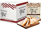 Patriot Pantry Freeze-Dried Chicken Case Pack (24 servings, 6 pk.) Bulk Emergency Food in Convenient Case Packs, Up to 25-Year Shelf Life