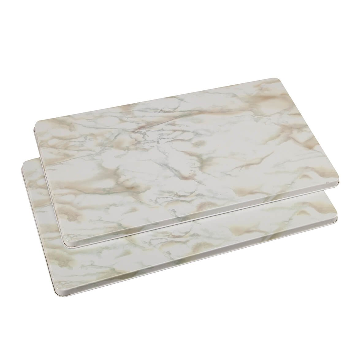 Marble Burner Covers Set of 2 - White