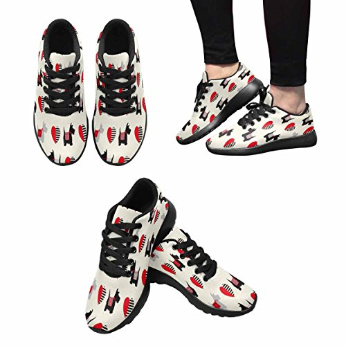 InterestPrint Womens Jogging Running Sneaker Lightweight Go Easy Walking Comfort Sports Running Shoes Multi 14 Aybjvw