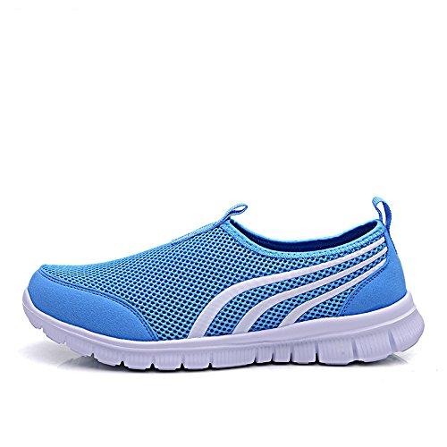 amp;G Sportive Scarpe Pizzo Donna NGRDX Light Scarpe Blue Casual In In Da Mesh Scarpe Scarpe Traspirante qxTUdwP
