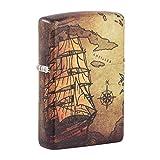 Zippo Pirate Ship 540 Color Pocket Lighter (Color: 540 Color Pirate Ship, Tamaño: One Size)