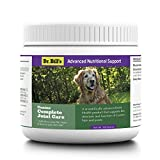 Dr. Bill's Canine Complete Joint Care for Dogs - Hip and Joint Supplement for Dog Arthritis Pain Relief with MSM, Turmeric, Green Lipped Mussel Extract, & Collagen Type I, II, V, & X | 180 Grams