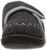 Kamik Baby COZYLODGE Slipper, Black/Charcoal, 8