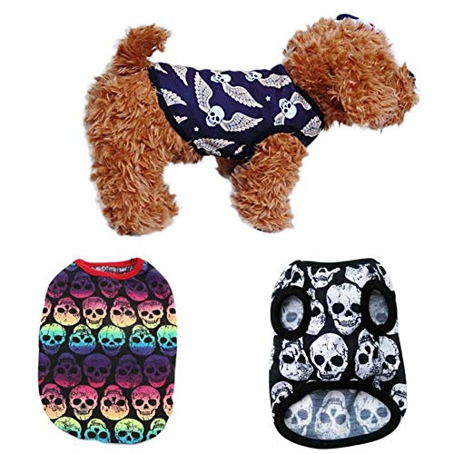 Coat per Angel Dog inverno roditori Halloween Skull outfit Puppy autunno Pet Gift vestiti Vest CricTeQleap Jacket Cw4TfqCF