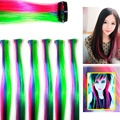 6Pc Hair Extension Clip in Comb 18