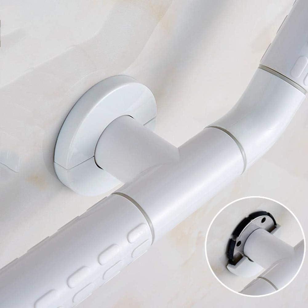 Size : 30 * 30CM wei/ß, 4 Gr/ö/ßen B-fengliu Sicherheits-Handgriff Handgriff Badewanne WC Griff rutschfeste Handlauf Gel/änder for /ältere Menschen