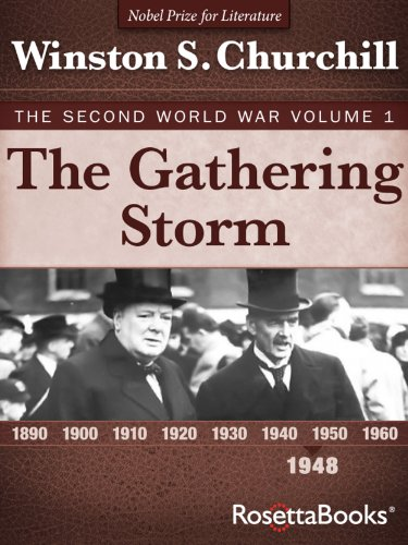 The Gathering Storm: The Second World War, Volume 1 (Winston Churchill World War II Collection) cover