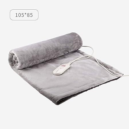 Manta eléctrica manta de rodilla cojín de calefacción alfombra de calefacción eléctrica manta calefactora para pies de oficinaC: Amazon.es: Salud y cuidado ...