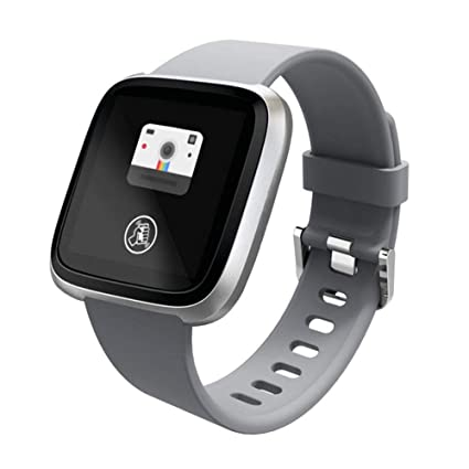 Amazon.com : Sxfcool Smart Bracelet Color Screen Heart Rate ...