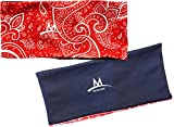 "Best Cooling Headbands - MISSION Enduracool Reversible Cooling Headband (3.75"" Red Paisley) Review"