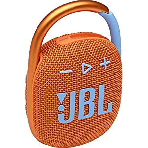 JBL Clip 4 by Harman Ultra-Portable IP67 Water & Dustproof Bluetooth Speaker with Upto 10 Hours Playtime (Without Mic…