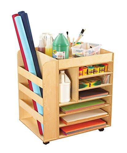 Korners for Kids 1457568 Versatile Mobile Art Cart, 30