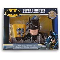 3-Pc. DC Batman Toothbrush + Toothbrush Holder + Rinse Cup