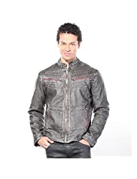 Affliction Men's Two Pistons Jacket Jackets