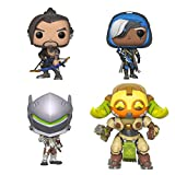 Funko Games: Overwatch Series 4 Collectors Set - Hanzo, Genji, Ana, 6' Orisa