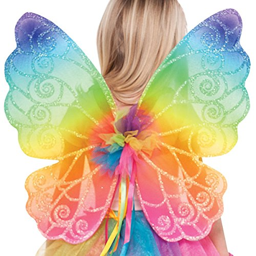 amscan Rainbow Fairy Wings - Child -