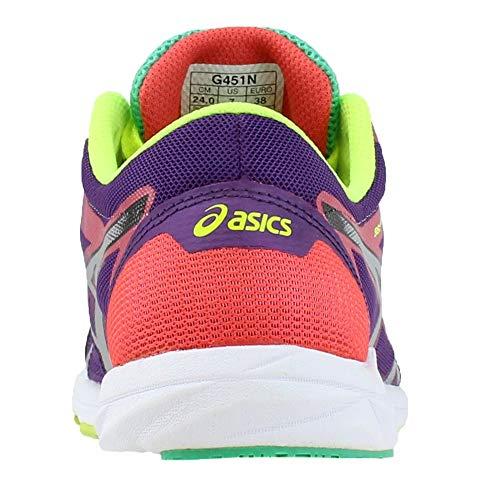ASICS Women's Gel Hyper Speed 6 PurpleSilverHot Coral 11.5