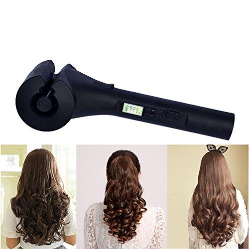 Cerámica plancha rizadora de pelo profesional de automática de rizador de cabello rizado flexible rizadores para el cabello por el cuidado Global del ...